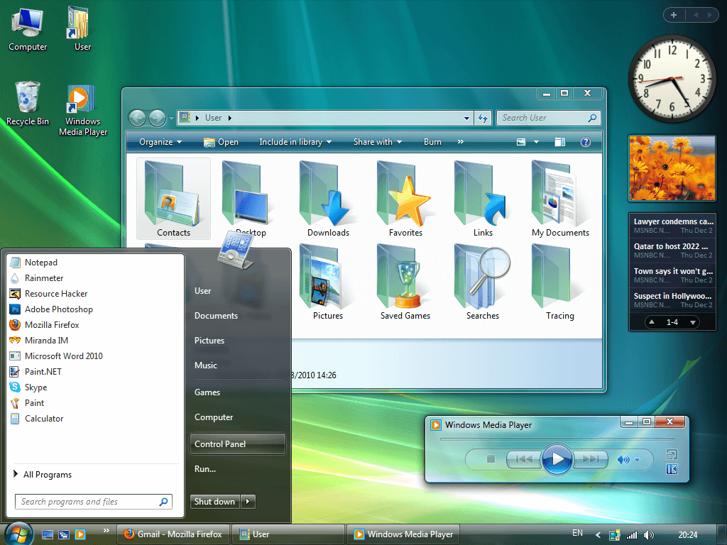 windows vista модем теле2
